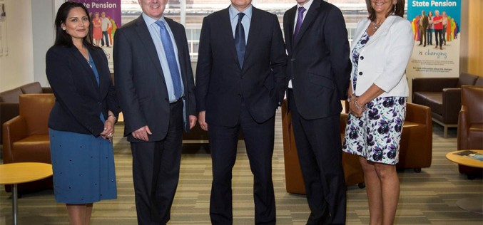 The new ministerial team for work & pensions